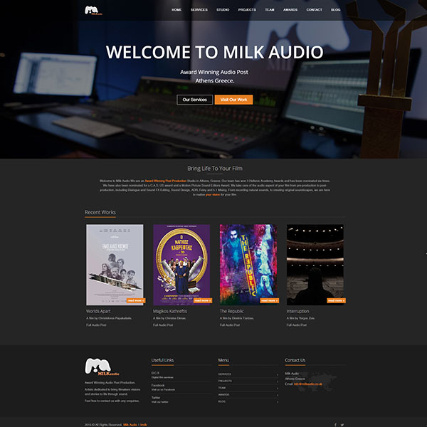 milk audio site